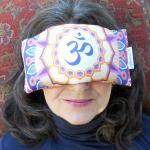 Om Mandala Eye Pillow