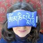 Om Mani Padme Hum Eye Pillow | Sanskrit Eye Pillow