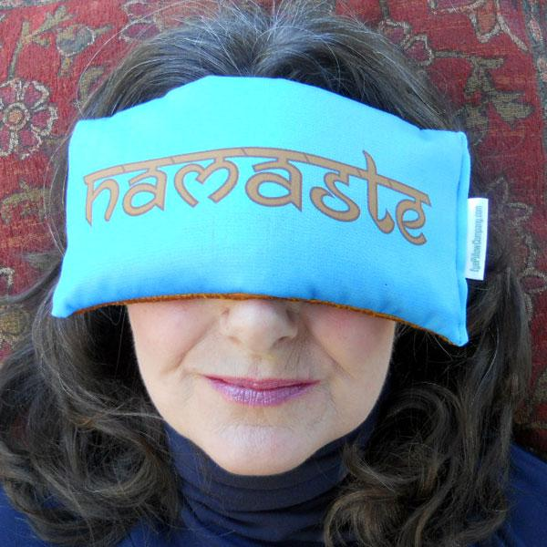 namaste eye pillow